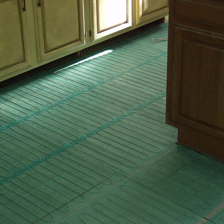 This Electrical Floor Warming Mat Is 120 Volts And For Application Under  Tile Or Stone. The Evenly Spaced, Serpentine Loop Design Delivers More  Heating ...