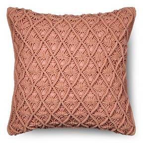 Threshold ™ Macrame Throw Pillow : Target
