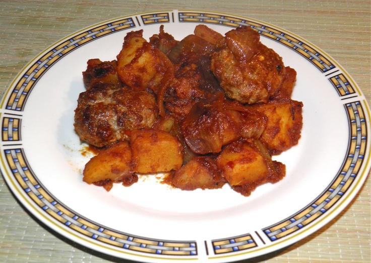 Recipes: Boerewors Sausage with Patatas Bravas
