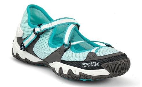 On this list for this summer's kayaking gear update...Sperry Topsider's Women's SON-R Open with natural sensory response pads!