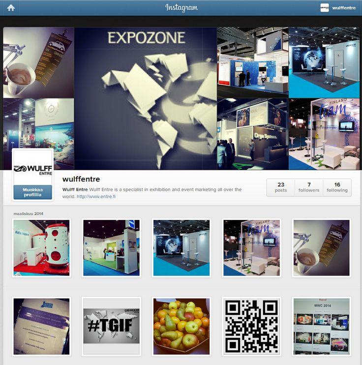 We're on instagram! #Instagram #socialmedia #WULFFENTRE