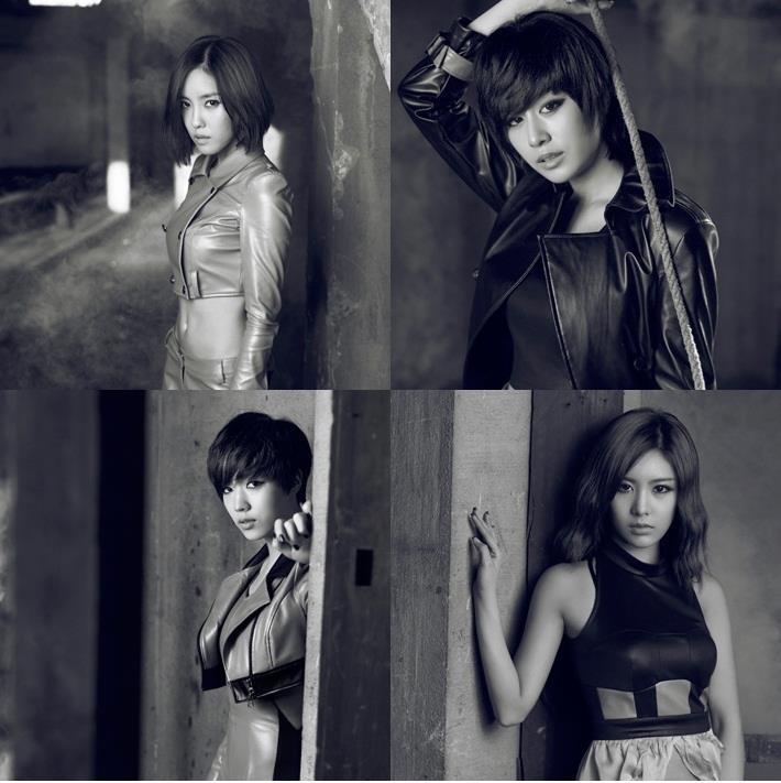 Hyomin, Jiyeon, Hwayoung & Qri <3