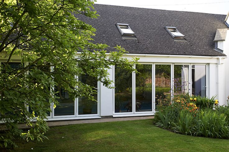 These energy efficient, slimline bi-fold doors are available in a range of sizes and styles, allowing you to fold and slide the panels to the left or right. There are a range of options, including a choice of colours and handles, so you can create a set bifold doors to suit your home.