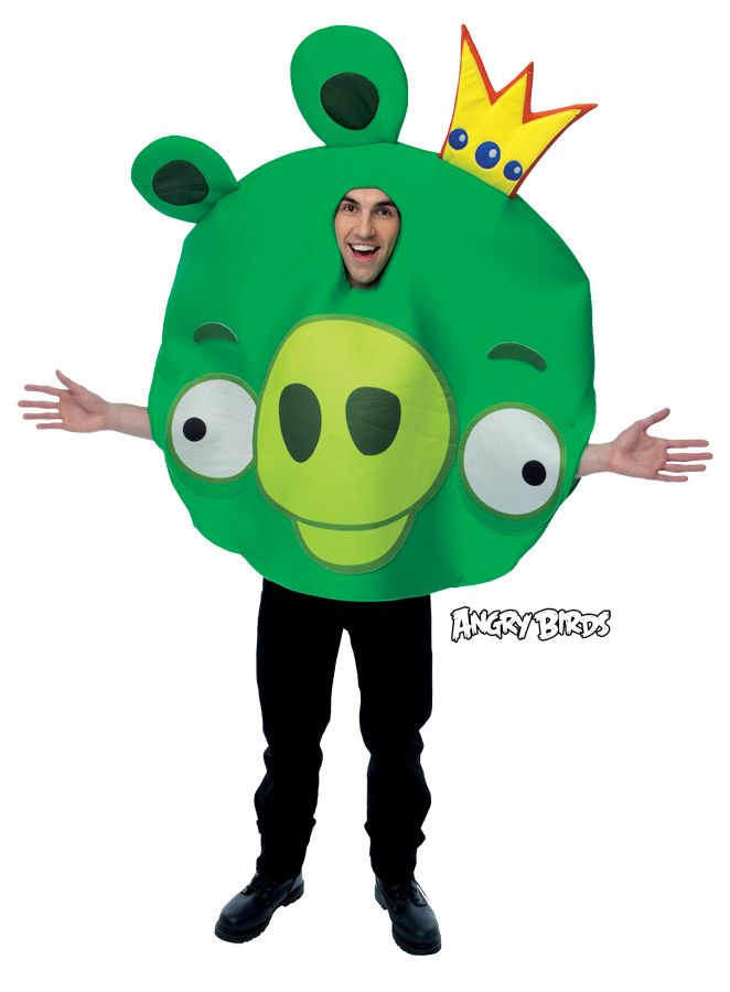 Cool Costumes Angry Birds King Pig Costume just added...
