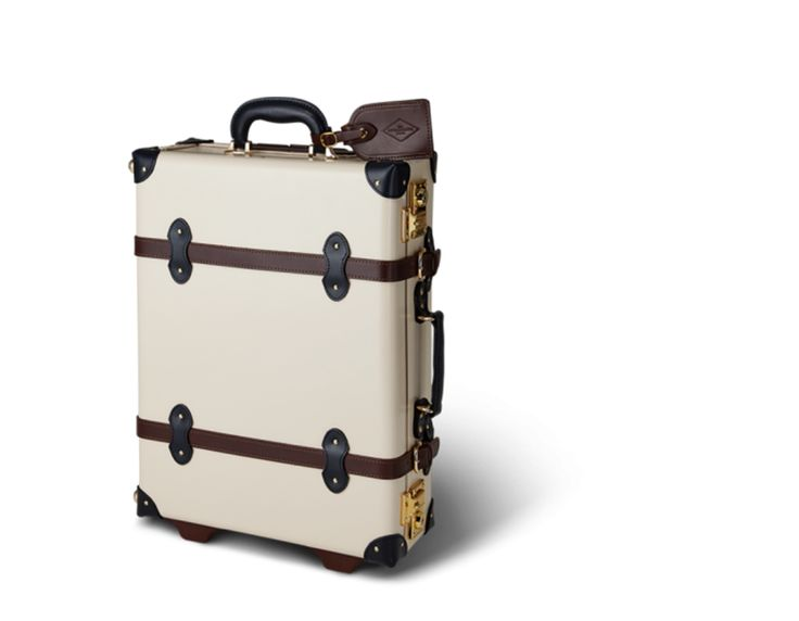 $850.00 PKR 89101 The Architect in Cream | Vintage leather luggage from Steamline Luggage