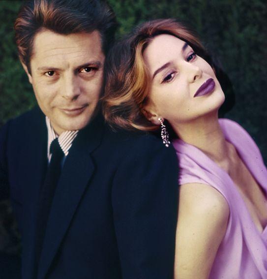 Marcello Mastroianni & Eleonora Rossi Drago, in una foto di Chiara Samugheo.
