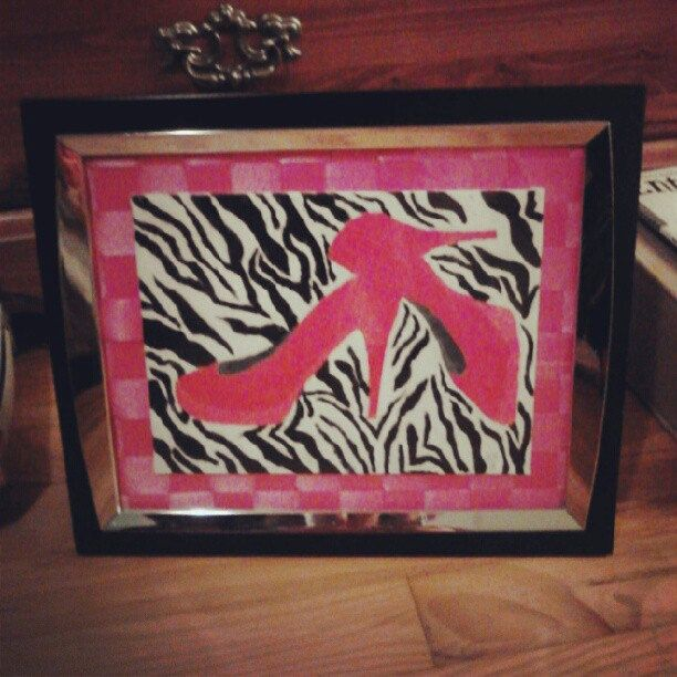 Creative Influences Pink Bedroom: 1000+ Images About Zebra Theme Room Ideas On Pinterest