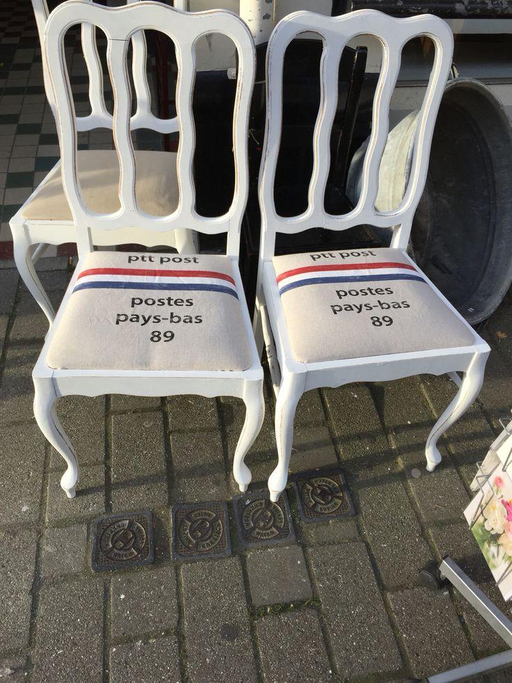 Postzak stoelen ptt