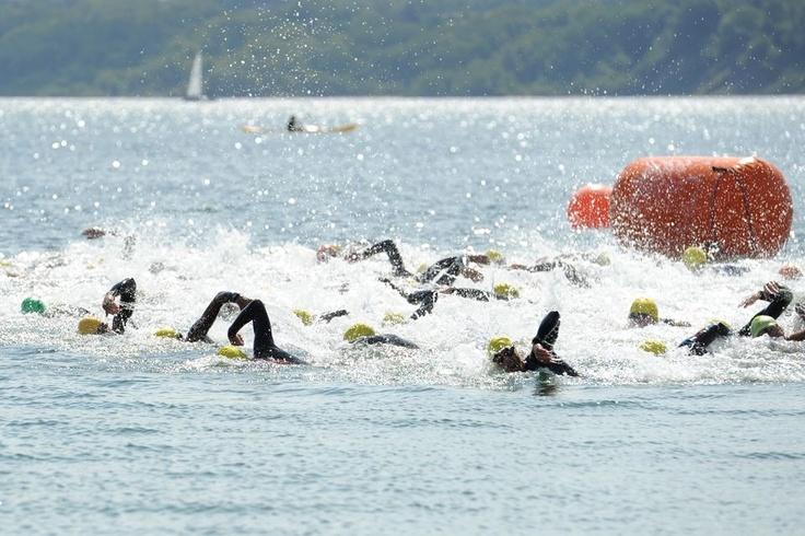 Triathlon in Fredericia - DM 2012.