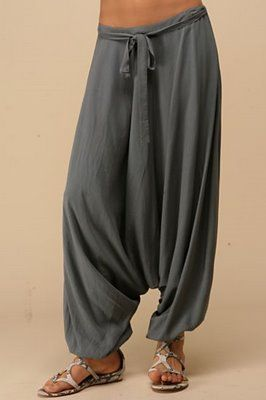 These kept me cool in August in Istabul, 8 months pregnant - best pants ever!!!!!
