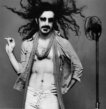 Frank Zappa....went to his hallloween concert in NYC fillmore east.. what a show