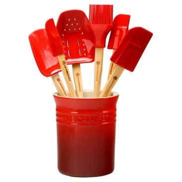 Check out this item at One Kings Lane! 7-Pc Utensil Set, Cherry