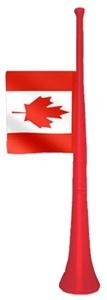 Canada Blow Horn w/Flag