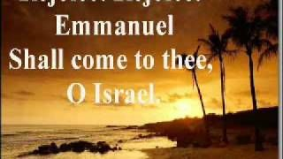 Oh Come Oh Come Emmanuel (with lyrics) - YouTube
