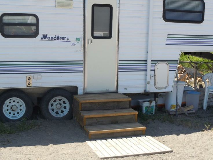 100 Best Rv Stairs Images On Pinterest: Camper Steps Or