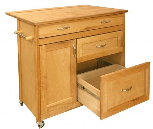 $600.00 Butcher Block Kitchen Island - Mid-Sized Drawer Island - Catskill Craftsmen 1521.See More Butcher Block Islands at http://www.zbuys.com/level.php?node=3927=butcher-block-islands