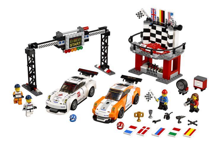 LEGO Speed Champions Porsche 911 GT Ziellinie