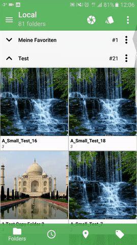 drag  select image