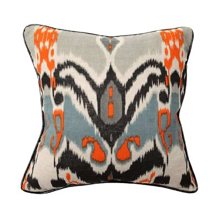 I pinned this African Ikat Pillow from the Emily Mughannam event at Joss and Main!