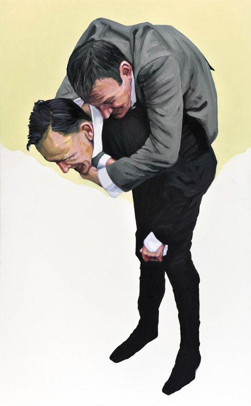 Artist painter Peter Ravn