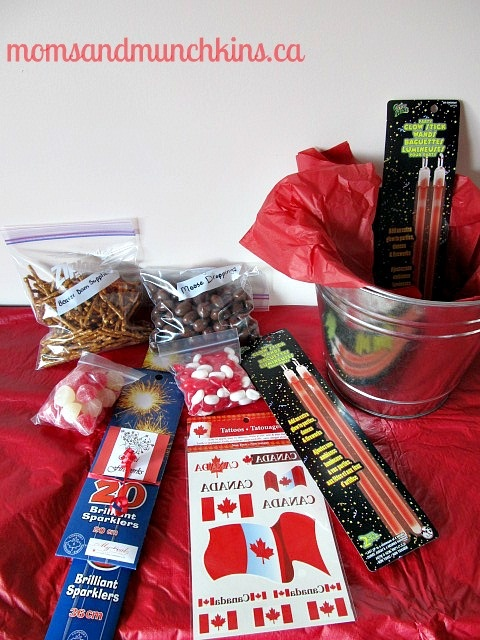 Canada Day Party - Host Gift Idea #CanadaDay