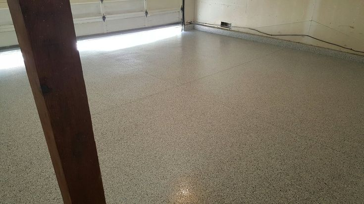 Residential Garage Floor Concrete Coating Pictures - Southern California | AAAdvantage Concrete Coatings