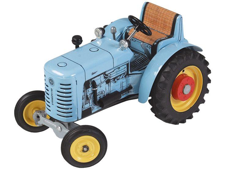 Krabat.se - Traktor Zetor 25 (blå) wind up