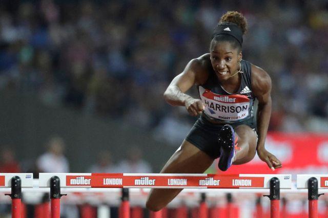 Kendra Harrison bat le record du monde du 100 m haies