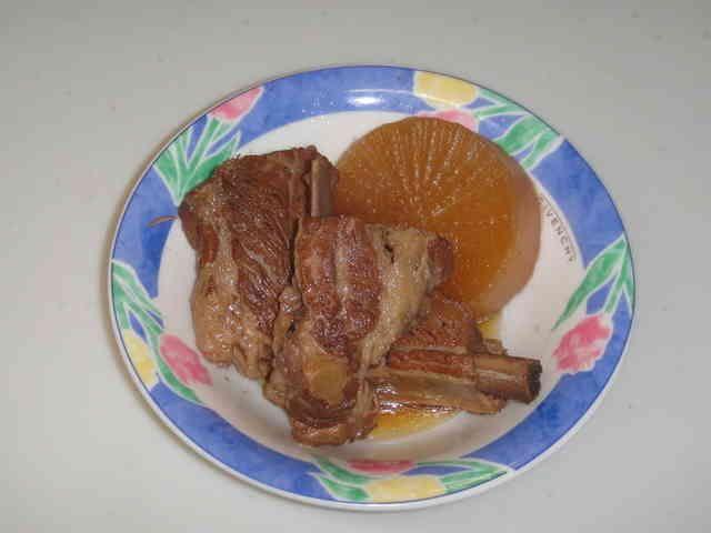 [簡単]豚スペアリブと大根の煮物の画像
