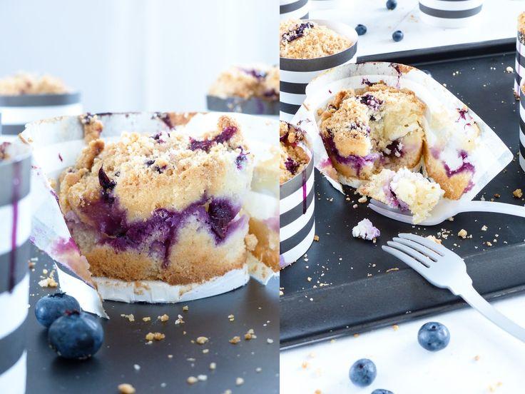 Es war einmal ein Blaubeer Muffin. Dieser traf auf eine sahnige Quarkmasse und knusprige Keks Streusel. Als sie zusammen in ein Baking...