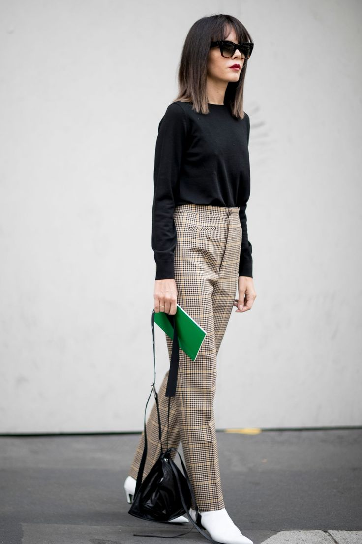 Comment porter le tweed ? working girl