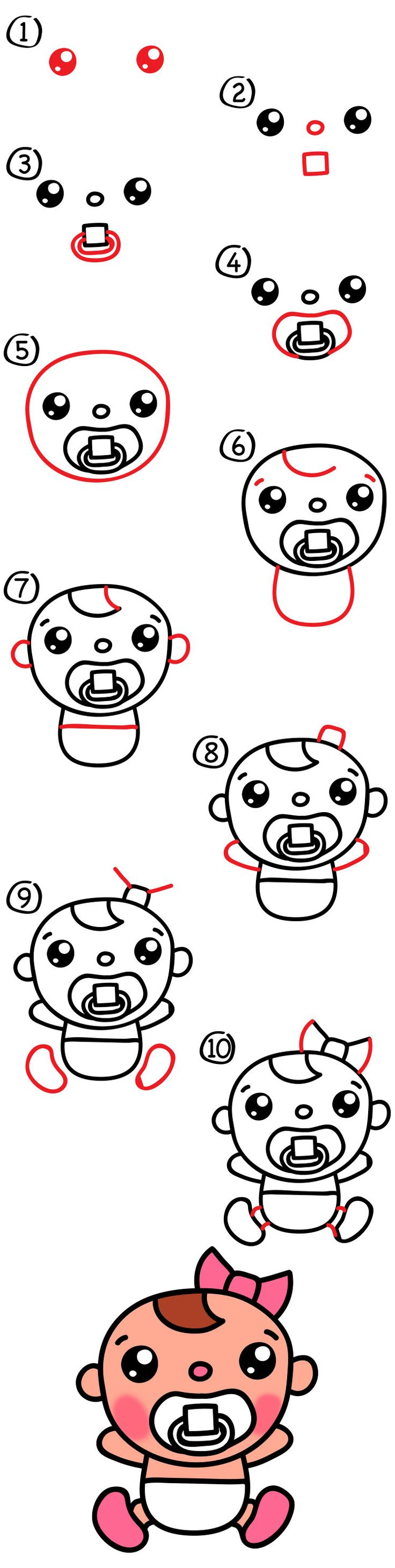 Pick up those markers and follow along with us. Today we're learning how to draw a cute cartoon baby. More specifically we're going to draw baby Olive. If your kids want to draw Olive with us, great! But, they could also change their drawing by using their own creativity and add different details. Maybe their …