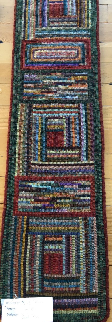 Reminds me of a log cabin quilt                                                                                                                                                                                 More