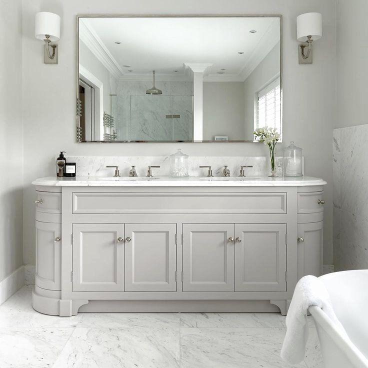 24 Double Sink Bathroom Ideas Arsitekmodern Com Di 2020 Interior Kamar Mandi Kamar Mandi Tradisional Hiasan Kamar Mandi