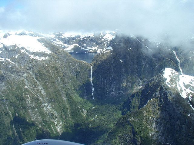 Sutherland Falls, 5th highest in world, 3 levels : swifant, via Flickr