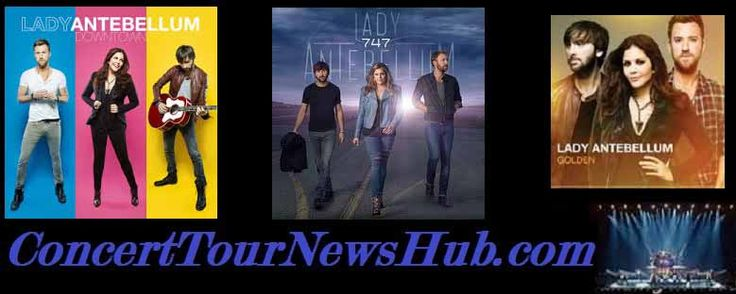 Lady Antebellum 2015 Wheel's Up Tour Schedule & Concert Tickets With Hunter Hayes & Sam Hunt