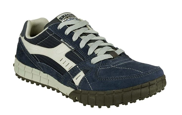 Sketchers Mens Relaxed Fit Shoe Uk