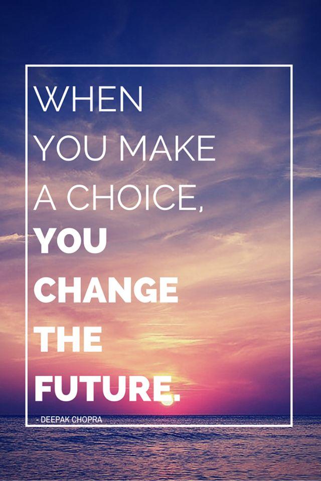 Setiap hari, setiap saat dalam kehidupan kita, kita pasti akan dihadapkan oleh berbagai macam pilihan. Pilihan adalah hal yang tidak akan bisa kita hindari, baik pilihan-pilihan berat dalam hidup yang tentunya akan menentukan arah hidup kita dan karenanya dapat menentukan masa depan yang akan kita jelang. Lalu bagaimana jika seandainya jika apa yang kita putuskan ternyata salah, atau tidak sesuai dengan apa yang telah kita prediksi dan rencanakan?