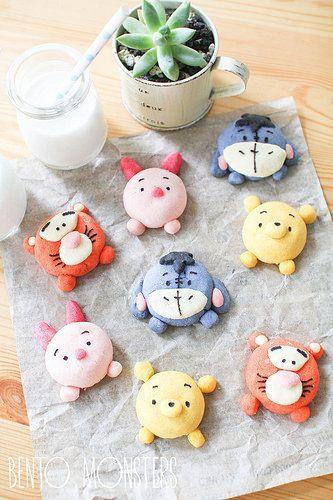 Winnie the Pooh and gang cookies // galletas de winnie the pooh y sus amigos