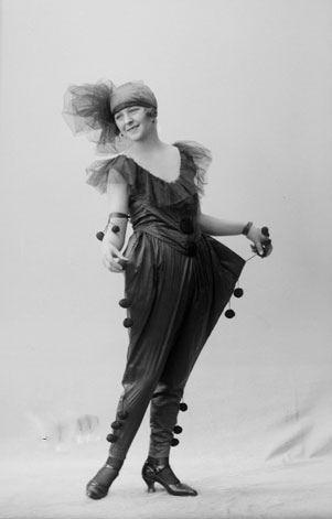 Fastelavn costume from 1925 (Aalborg, Denmark)
