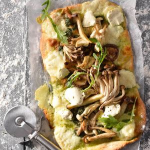 Mushroom and Pesto Pizza #Bakes #Pizza #SouthAfrica
