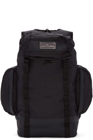 adidas by Stella McCartney - Black Multi-Pocket Athletic Backpack