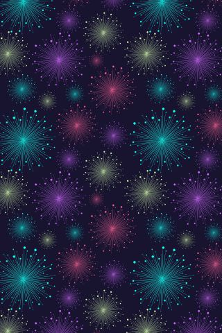 """""""Fireworks in London"""" by Sugary. To have a colourlovers pattern printed on fabric, go to http://www.colourlovers.com/store/fabric"""