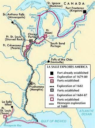 French explorer in North America, who led an expedition down the Illinois and…