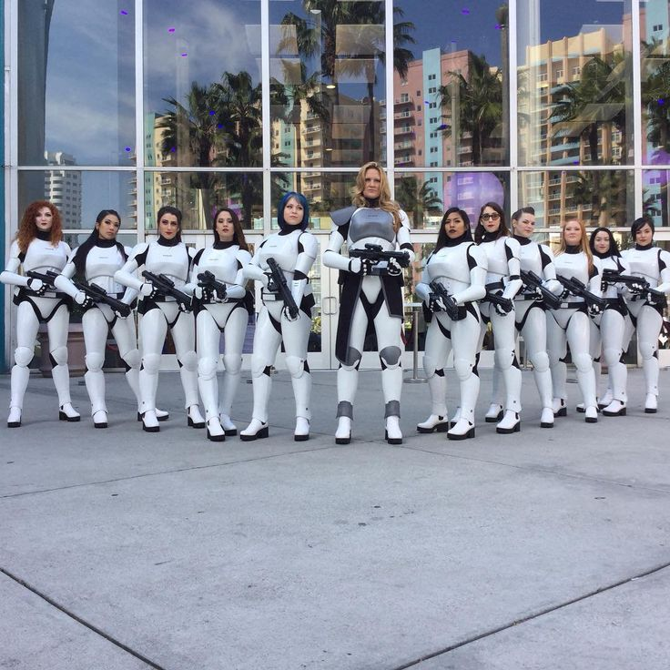 badass awesome women  Stormtroopers