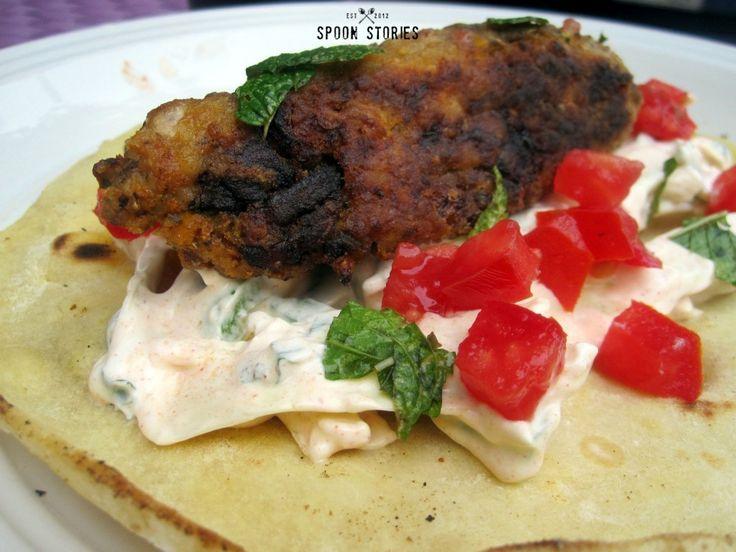 μπιφτέκια με πορτομπέλο και λαχανικά-portobello mushroom burger