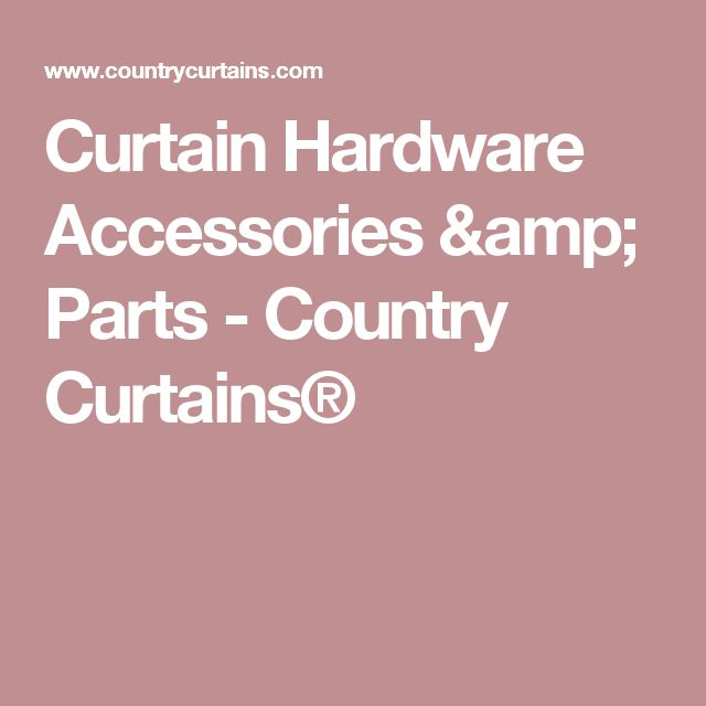 25 Best Ideas About Country Curtains On Pinterest