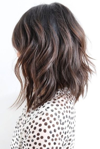 """There's a reason Anh Co Tran makes it on to this blog so much - because he nails it every time. This shoulder length cut is textured and perfectly exemplifies the term """"Lived In Hair""""."""