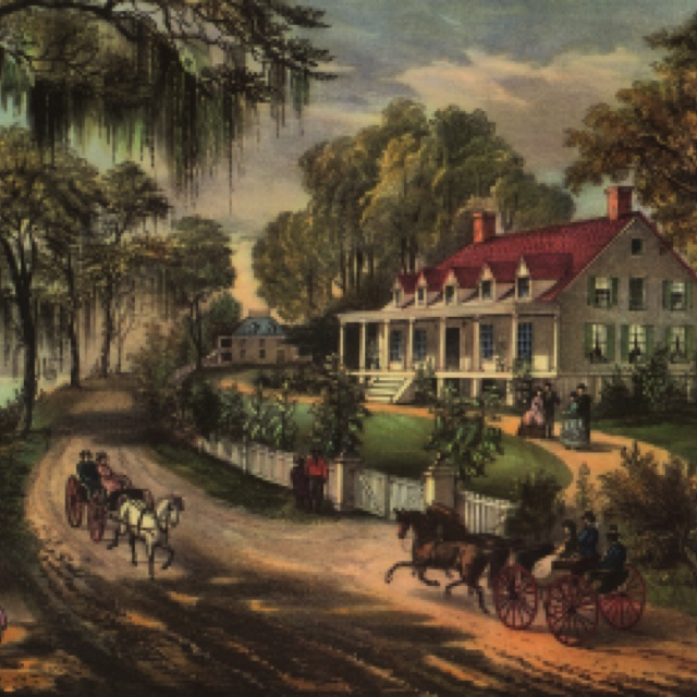 evergreen plantation painting, plantation oil painting, plantation house painting, on paintings of old southern homes plantations and mansions