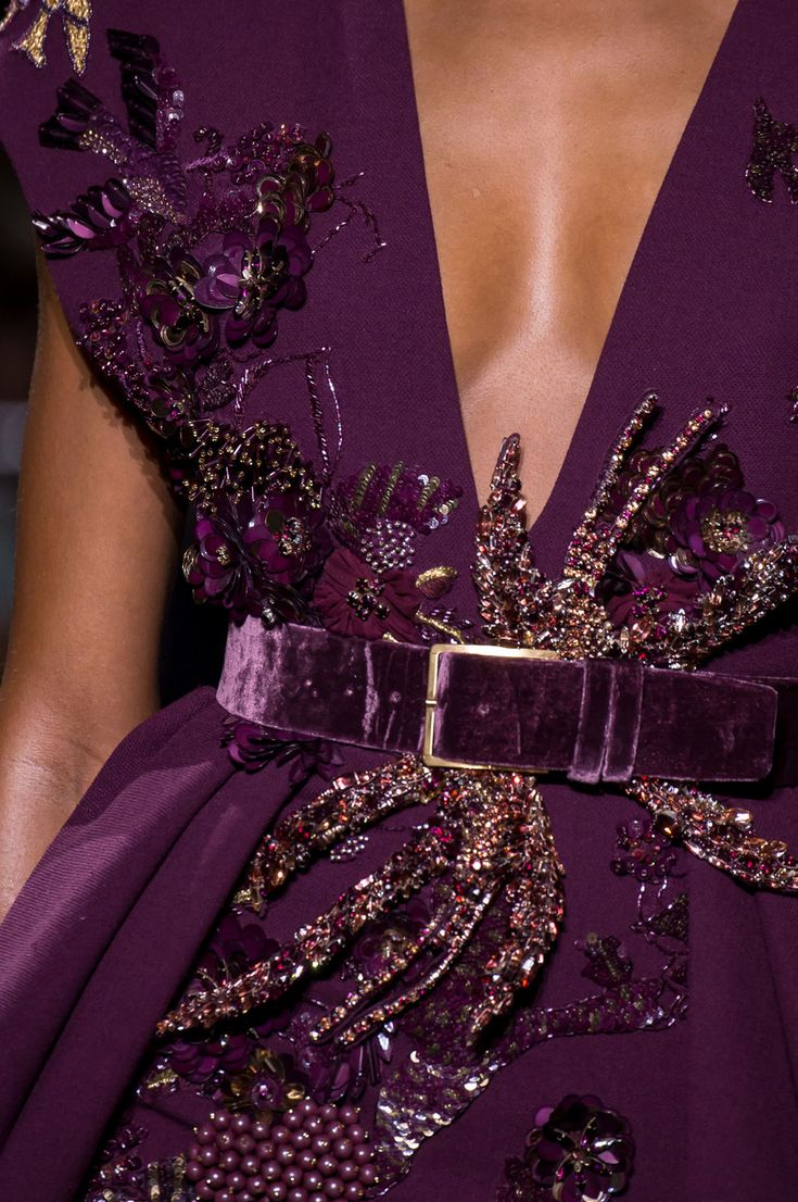 Elie Saab Couture, Fall 2016 - Breathtakingly Beautiful Fall '16 Couture Details - Photos                                                                                                                                                                                 Más